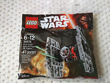 SEALED Lego Star Wars First Order Special Forces TIE Fighter Polybag 30276