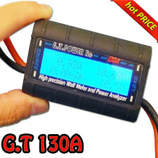 G.T.Power High Precision 130A Watt Meter and Power Analyzer Tester For RC Model