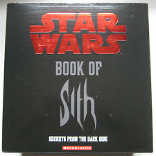 STAR WARS Book of Sith: Secrets from the Dark Side VAULT EDITION New in Box