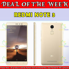 XIAOMI REDMI NOTE 3 ★ GOLD ★ SILVER ★ GREY ★ 32 GB ★ 3 GB ★ 4G ★ BRAND WARRANTY