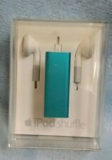 ~FACTORY SEALED~ Genuine Apple iPod shuffle 3rd Generation (2 GB) Blue NEW