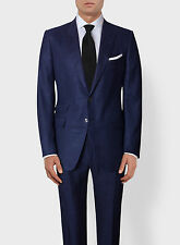 New 2017 TOM FORD Dark Blue O'Connor Suit Lightweight Wool SIlk 42 R/52 IT $5870