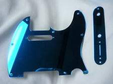 Tele Telecaster Blue Mirror pickguard set Fender