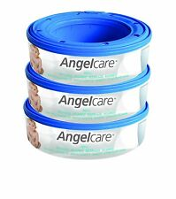 Angel Care Refill Cassette x 3 for nappy disposal system