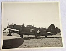 Official US Army Air Force Photo 8x10 Prop WWII Republic P-47D-2 Thunderbolt.