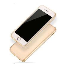 Shockproof 360° Silicone Clear Gradient Case Cover For Apple iPhone 6 6S Plus SE