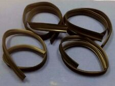 1968-1972 CHEVROLET EL CAMINO DOOR WINDOW GLASS RUN CHANNEL FELT SEAL KIT SET