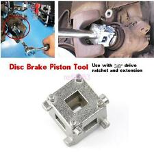 "Car DIY Rear Disc Brake Piston Caliper Wind Back Cube 3/8"" Calliper Adaptor Tool"