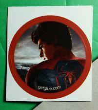THE AMAZING SPIDERMAN BACK LOGO ANDREW GARFIELD GET GLUE STICKER