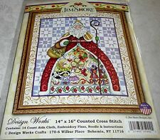 Design Works Counted Cross Stitch Kit 12 DAYS of Christmas by Jim Shore Designs