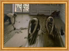 The Floor Planers Gustave Caillebotte Handwerker Berufe Boden Holz B A3 02160