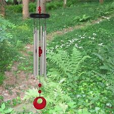Woodstock Red Coral Chakra Wind Chime V HIGH QUALITY Beautiful tone & Shade