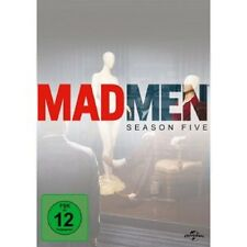 MAD MEN-SEASON 5 (ELISABETH MOSS/VINCENT KARTHEISER/JON HAMM) 4 DVD NEU