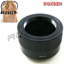Roxsen T T2 Mount Lens to Micro 4/3 mount M43 adapter Olympus E-PL7 Panasonic G6