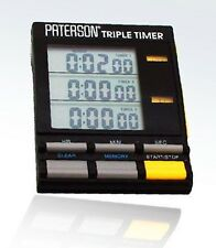 Paterson Triple Timer For Photographic Darkroom Use : PTP 800