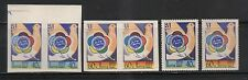 RUSSIA 1957 SC 1913-14  PERF SC 1913A-14A IMPERF PAIR FESTIVAL  MNH  # 5721