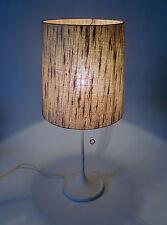 60s Tisch Leuchte Glasfaser Lampe table lamp tulip base wohl Kaiser annees 60