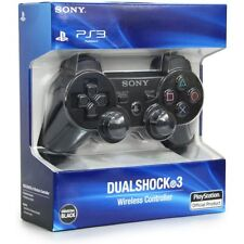 PS3 CONTROLLER JOYSTICK ORIGINALE WIRELESS  NERO DUALSCHOCK 3