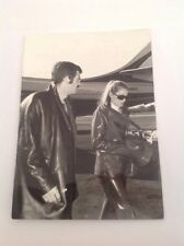 JEAN PAUL BELMONDO  et URSULA ANDRESS - Photo de presse originale 18x13cm