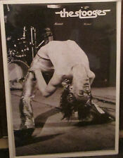 IGGY POP POSTER LIVE NEW NEVER OPENED LATE 2000'S VINTAGE 1977 the stooges