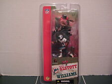 McFarlane Mike Alstott Tampa  and Ricky Williams Dolphins Two Pack Set 3 inch