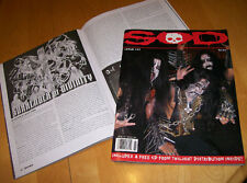 S.O.D. 'zine #23 Celtic Frost Witchery Bestial Mockery Cretin Summoning RARE OOP