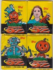 VINTAGE TOPPS RETURN TO OZ  TRADING CARDS  4 sealed/unopened Wax Packs 1985
