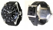 B LOCMAN STEALTH AUTOMATIC DIVING WATCH TITANIUM MONTRE DE PLONGÉE TAUCHERUHR