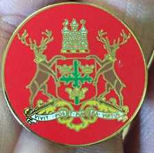 NOTTINGHAM FOREST CITY STAGS CREST ENAMEL PIN BADGE