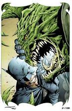 "JIM LEE BATMAN #610 ""HUSH"" SDCC LIMITED EDITION ART PRINT  XX/100"
