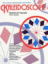 Kaleidoscope Match Of The Day Woodwind Brass Sheet Music Book