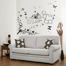 Wall Stickers Mural Decal Paper Art Decoration Photo Frame Cemera Living Room