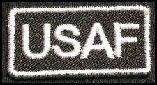USAF Iron-On Patch/Badge for T-Shirt Uniform Overalls Cap US Air Force ABU 25P