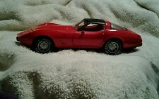 1/24 1979 CHEVROLET CORVETTE RED WITH RED & BLACK INTERIOR