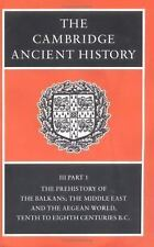 The Cambridge Ancient History, Vol. 3, Part 1: The Prehistory of the B-ExLibrary