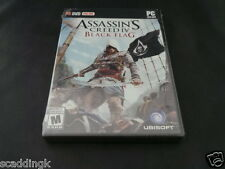 GIOCO PC ASSASSIN'S CREED IV 4 BLACK FLAG NUOVO SIGILLATO