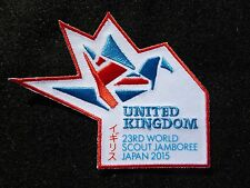 United Kingdon - 23rd World Scout Jamboree Japan 2015 Solidarity Cloth Badge