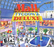 Mall Tycoon 2 Deluxe (PC, 2004, Virtual Playground)- Free USA Shipping!
