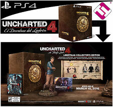 SET PS4 UNCHARTED 4 THE OUTCOME THIEF EDITION COLLECTOR TOP SALES