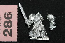 Warhammer 40k Space Marines Librarian Sword Metal Figure Mint New WH40K OOP