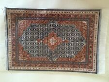 "Doll House Miniature Carpet / Rug  size 29 x 19cm (11.5"" X 7.5"")"