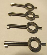 4 NEW GENUINE SMITH & WESSON 31136 HANDCUFF KEYS DOUBLE LOCK M100 M103 110 M300