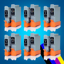 6 ink Cartridge for Canon BCI-24 i350 i455I475d MP370 MP390 MP1300 410 IP1000