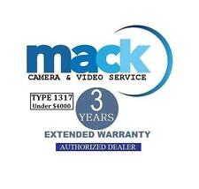 Mack 3-Years Accidental Warranty (#1317) For Canon EOS 5D Mark lII DSLR Cam