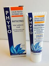 PHYTO Phytocitrus Vital Radiance Mask COLOR TREATED & PERMED Hair 1.6 fl. oz