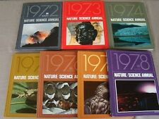 Lot of 7 TIME LIFE BOOKS Nature/Science Annual 1972-1978 HB - Free S/H in US