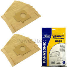 10 x C-20E Dust Bags for Panasonic MC-E7300 MC-E7301 MC-E7301k Vacuum Cleaner