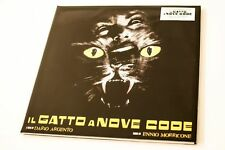 IL GATTO A NOVE CODE - LP YELLOW VINYL 2014 - ENNIO MORRICONE - NUOVO