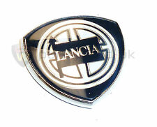NEUF origine lancia Y10 KAPPA LYBRA etc pilier badge 30mm x 30mm 7765022
