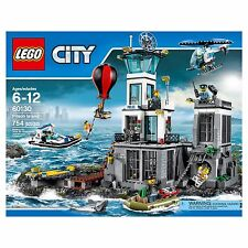 LEGO CITY 60130 PRISON ISLAND KIDS BUILDING BLOCK PLAYSET TOYS (NEW SEALED)